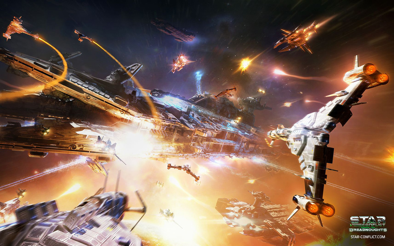 Free Star Conflict Wallpaper in 1280x800
