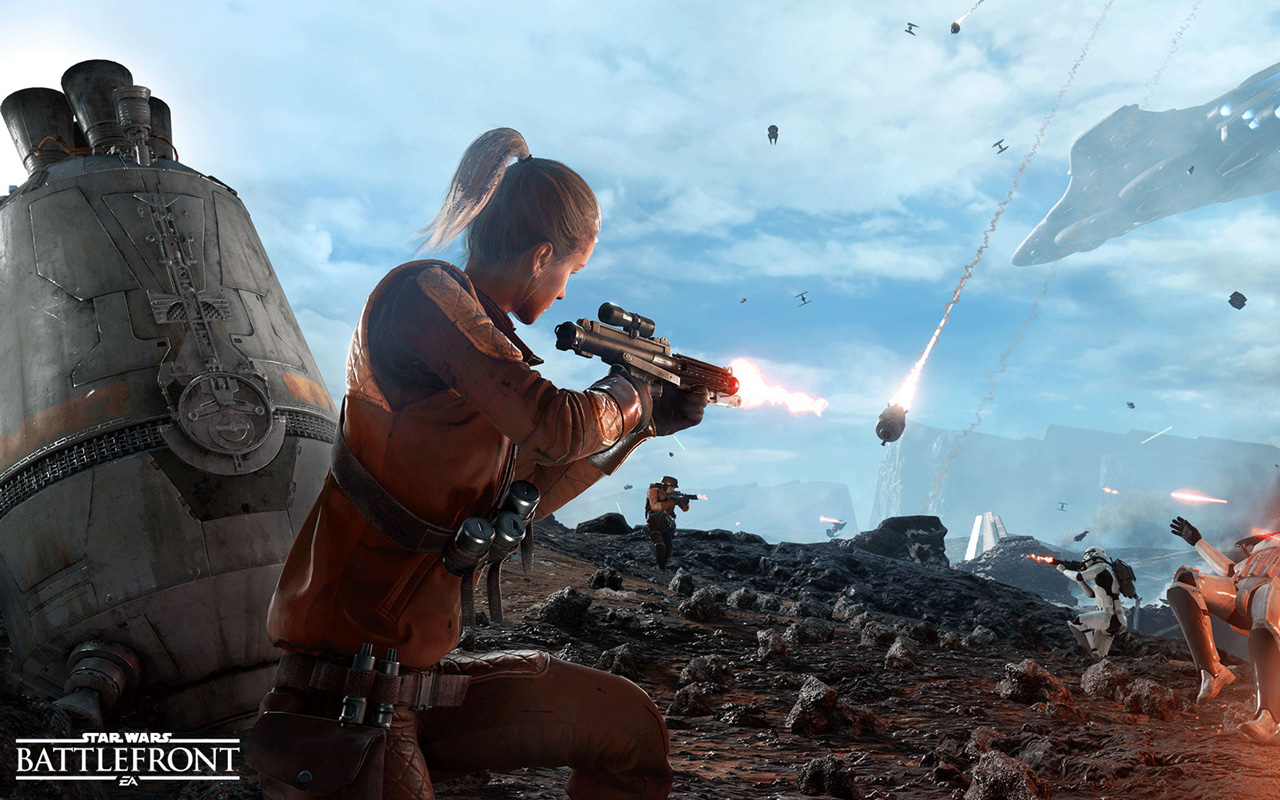 Free Star Wars: Battlefront Wallpaper in 1280x800