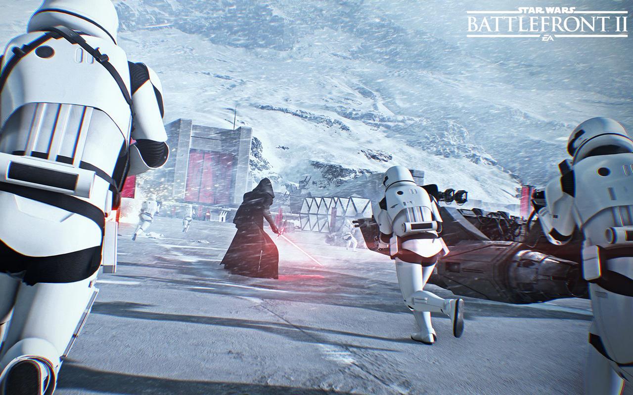 Free Star Wars: Battlefront II Wallpaper in 1280x800