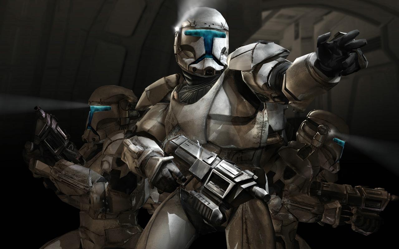 Free Star Wars: Republic Commando Wallpaper in 1280x800