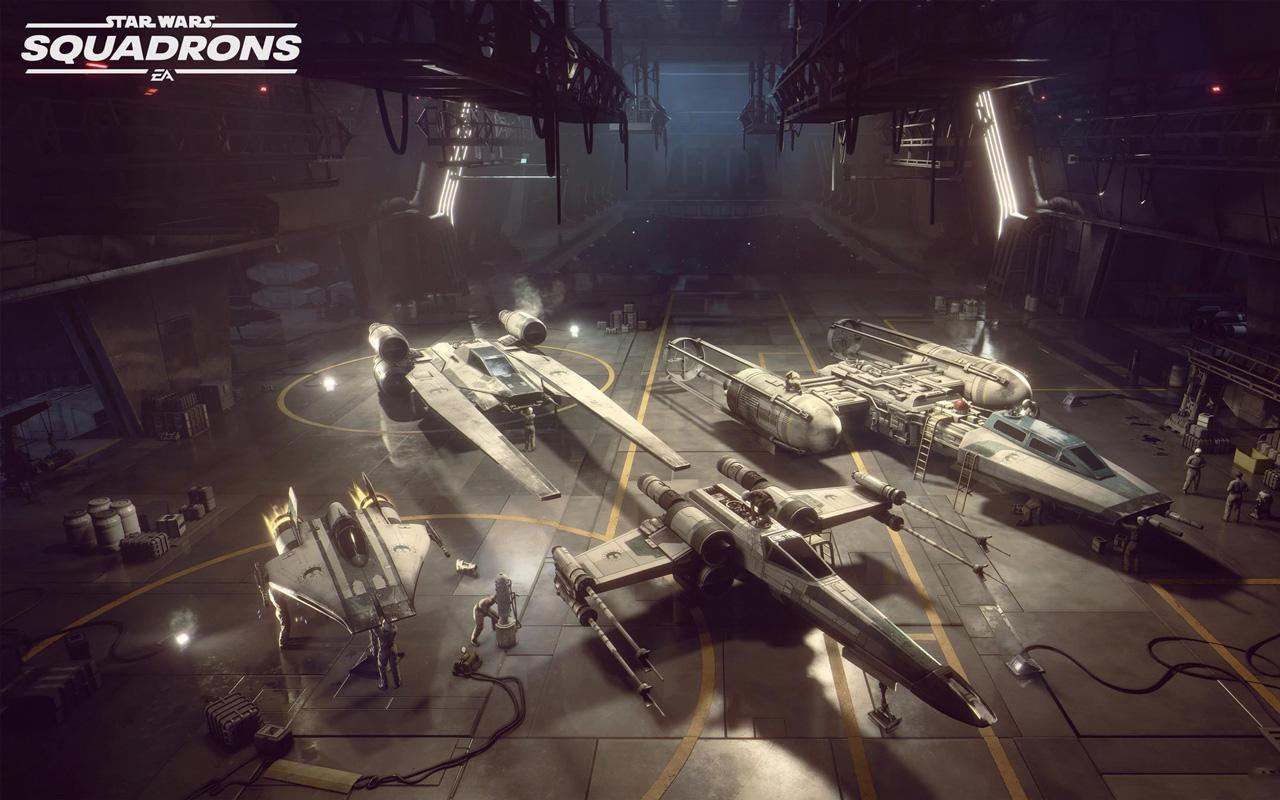 Free Star Wars: Squadrons Wallpaper in 1280x800
