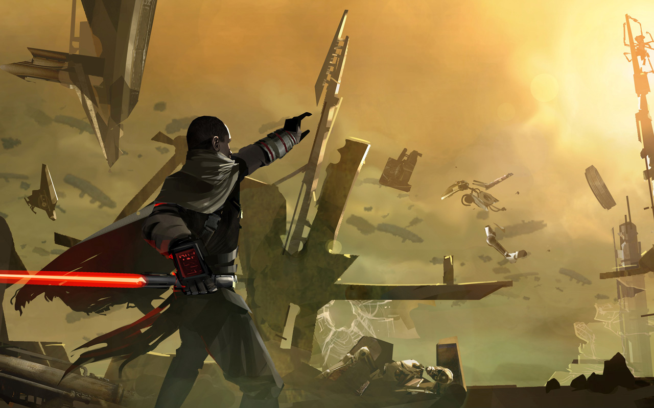 Free Star Wars: The Force Unleashed Wallpaper in 1280x800