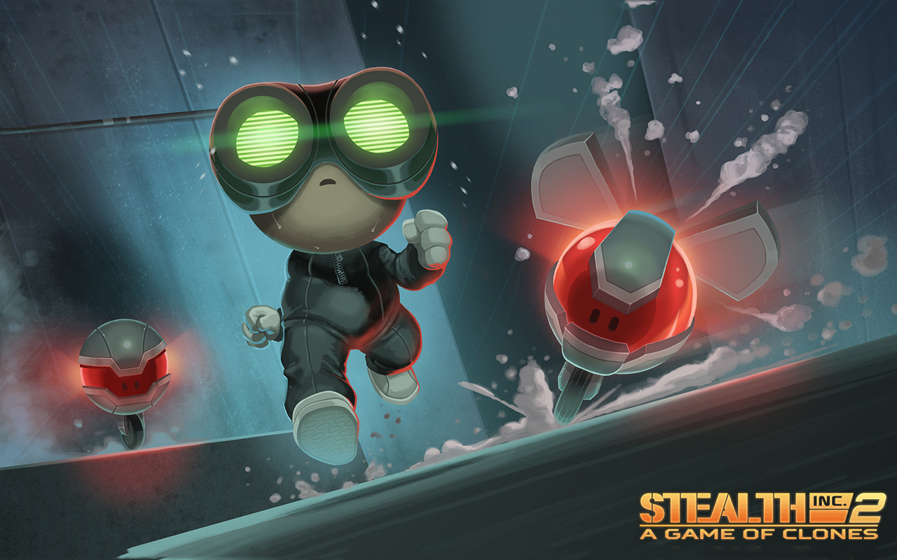 Free Stealth Inc 2: A Game of Clones Wallpaper in 1280x800