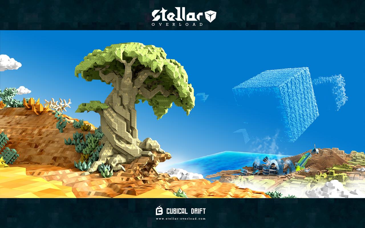 Free Stellar Overload Wallpaper in 1280x800