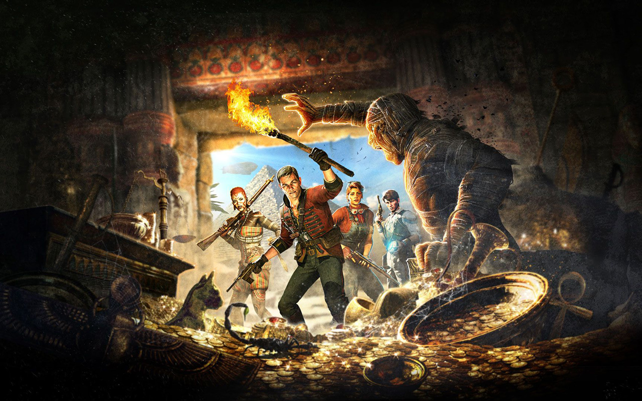 Free Strange Brigade Wallpaper in 1280x800