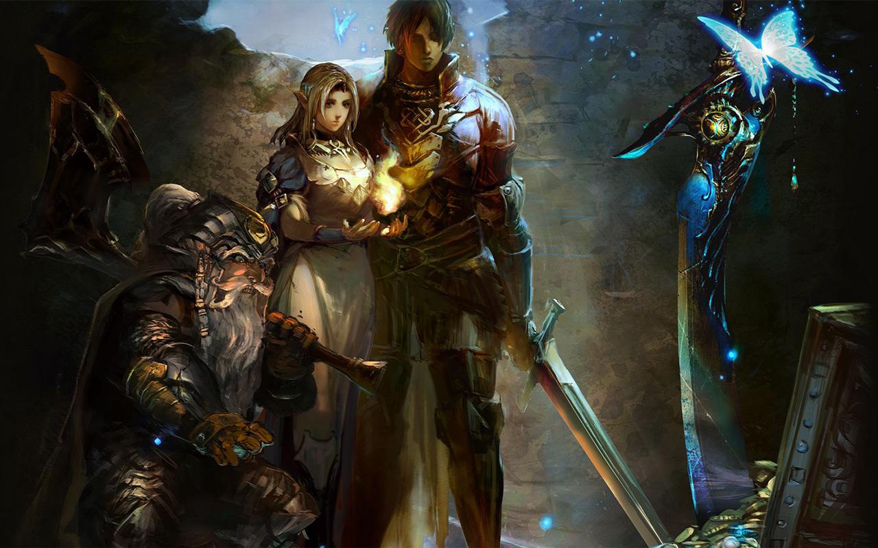 Free Stranger of Sword City Wallpaper in 1280x800