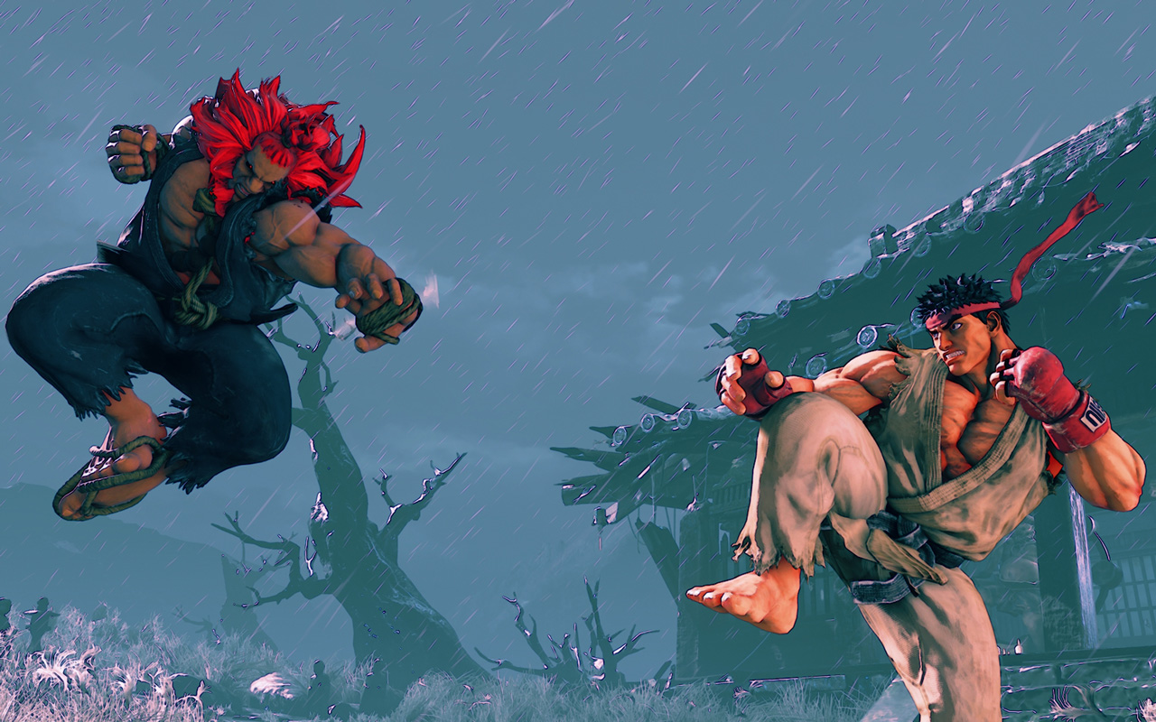 Free Street Fighter V Wallpaper in 1280x800