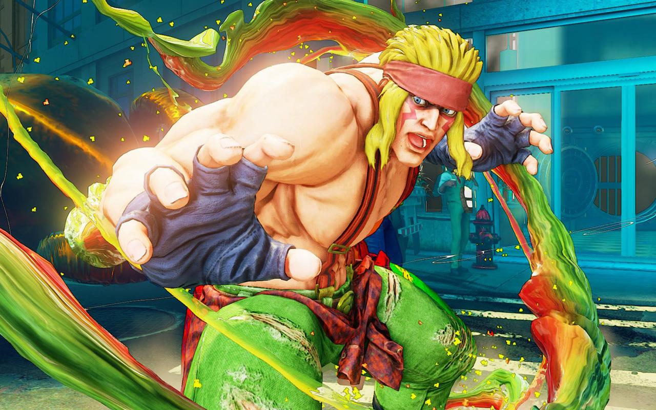 Free Street Fighter V Wallpaper in 1280x800