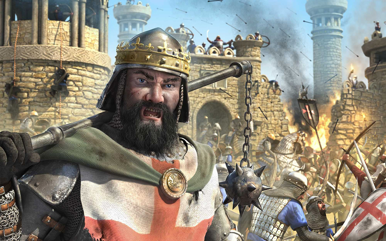 Free Stronghold Crusader 2 Wallpaper in 1280x800
