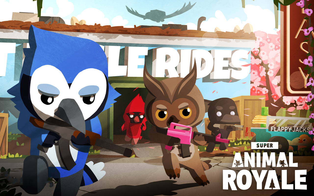 Free Super Animal Royale Wallpaper in 1280x800