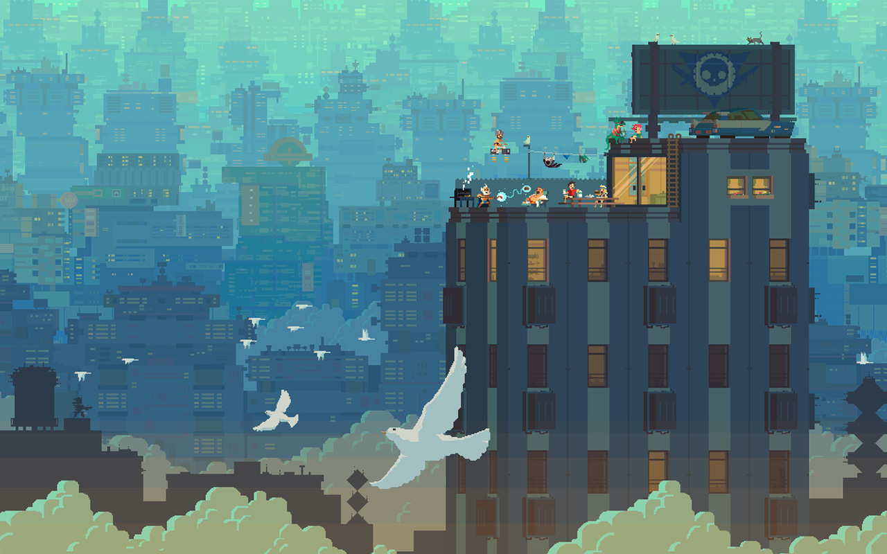 Free Super Time Force Wallpaper in 1280x800