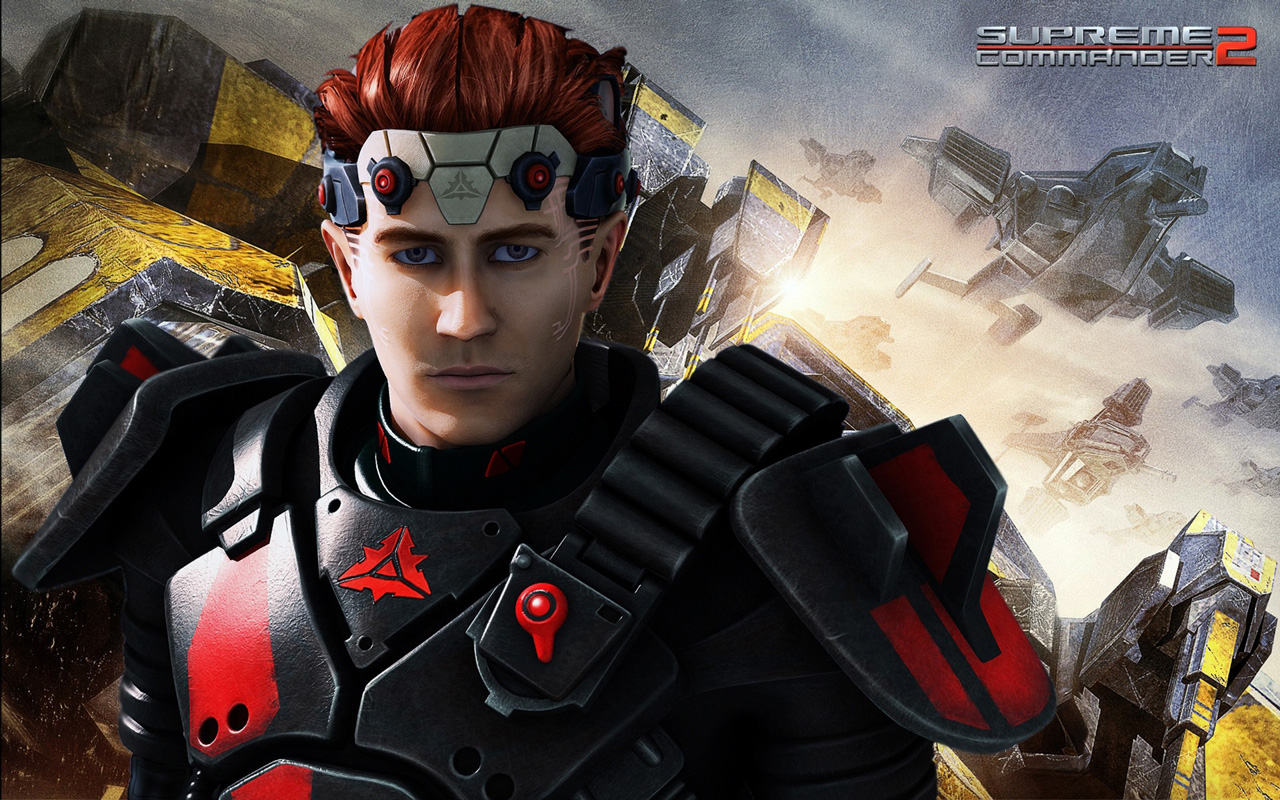 Free Supreme Commander 2 Wallpaper in 1280x800