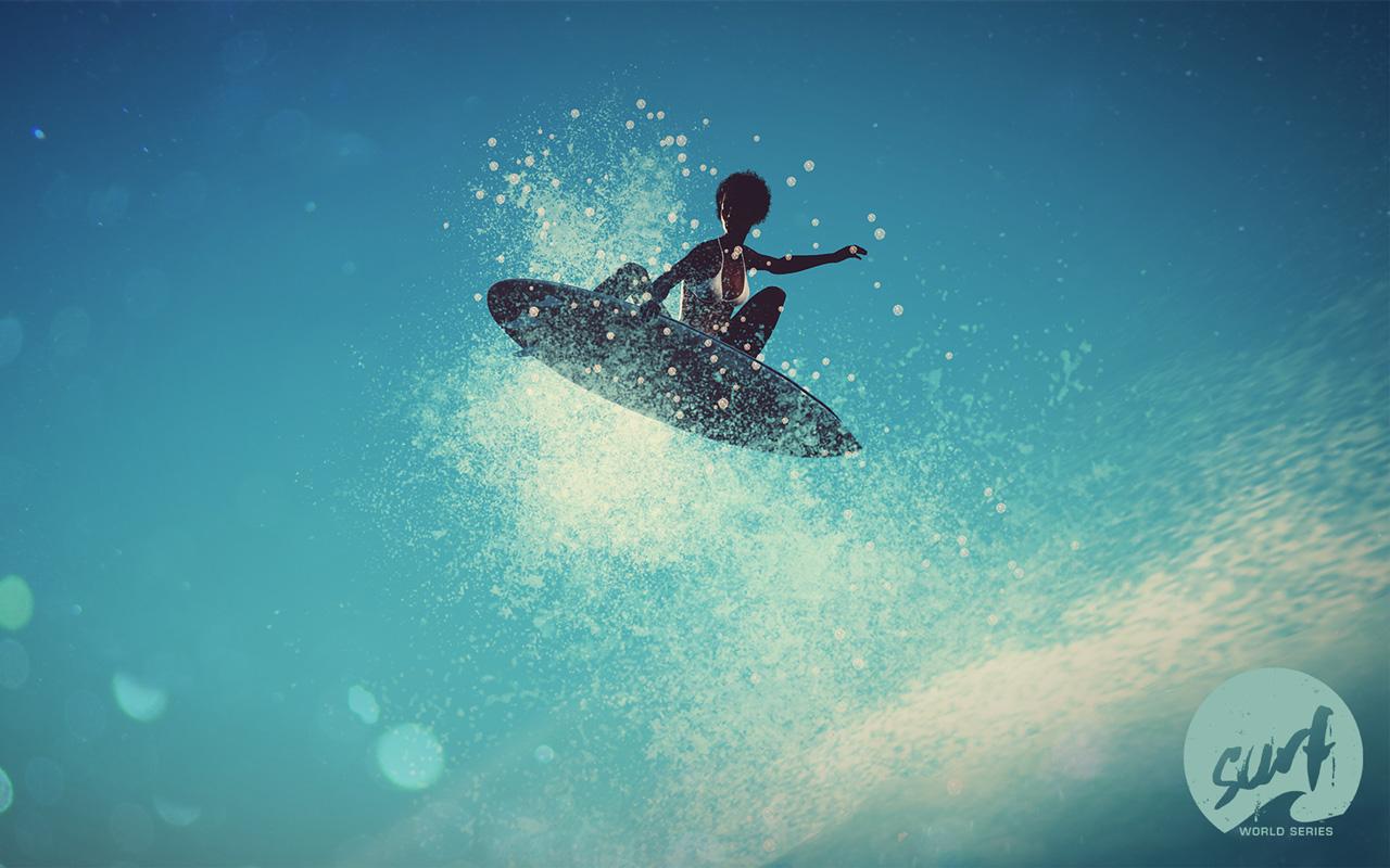 Free Surf World Series Wallpaper in 1280x800