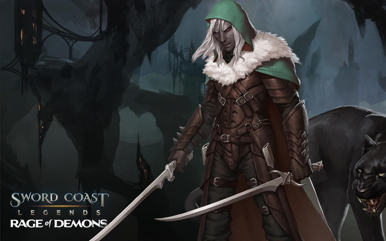 Free Sword Coast Legends Wallpaper in 1280x800