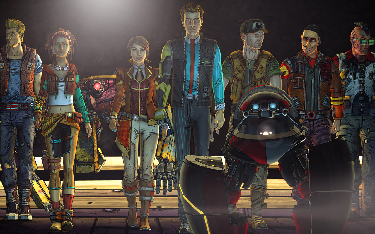 Free Tales from the Borderlands Wallpaper in 1280x800
