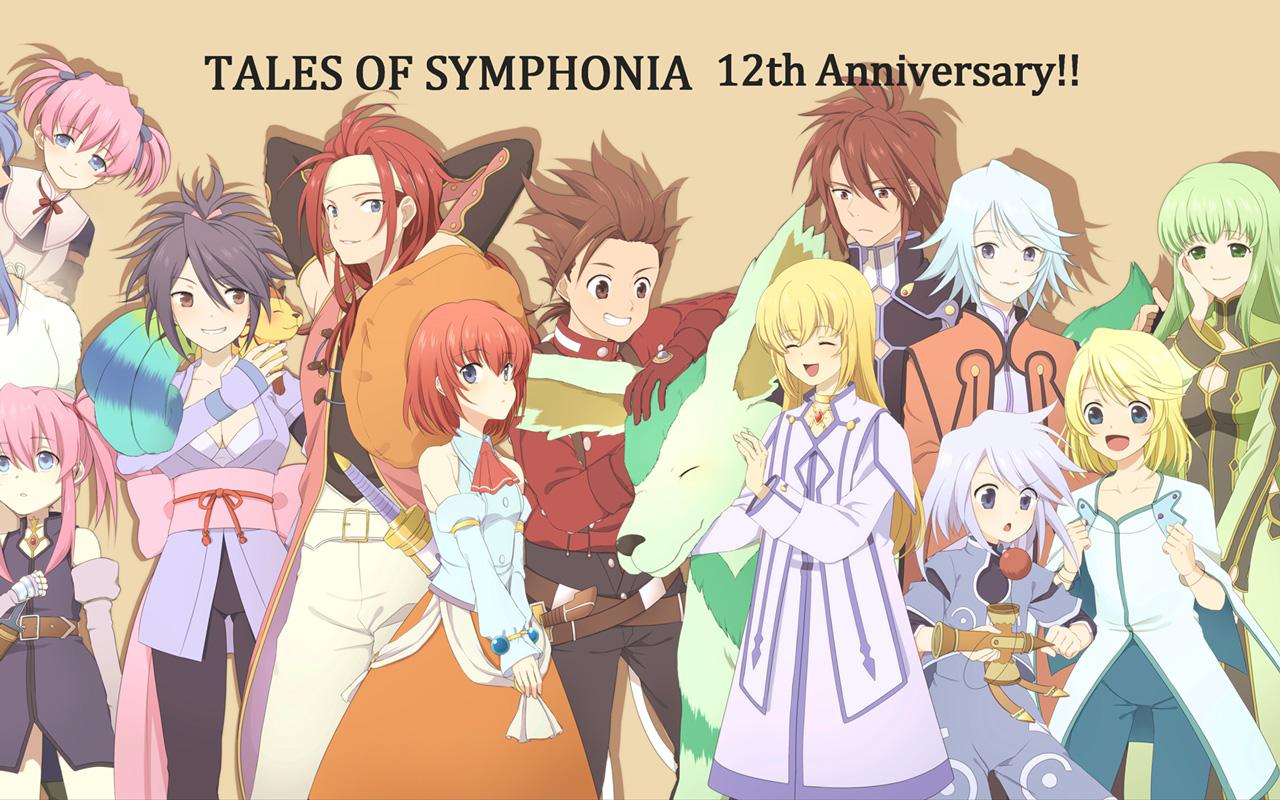 Free Tales of Symphonia Wallpaper in 1280x800