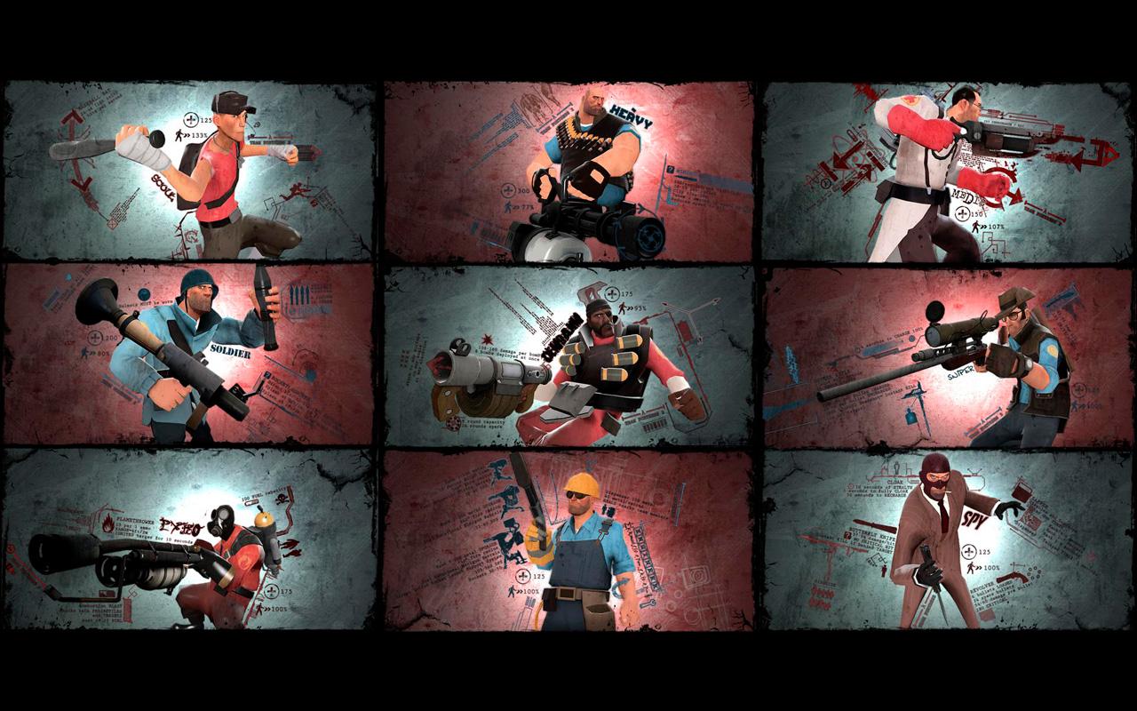 Free Team Fortress 2 Wallpaper in 1280x800