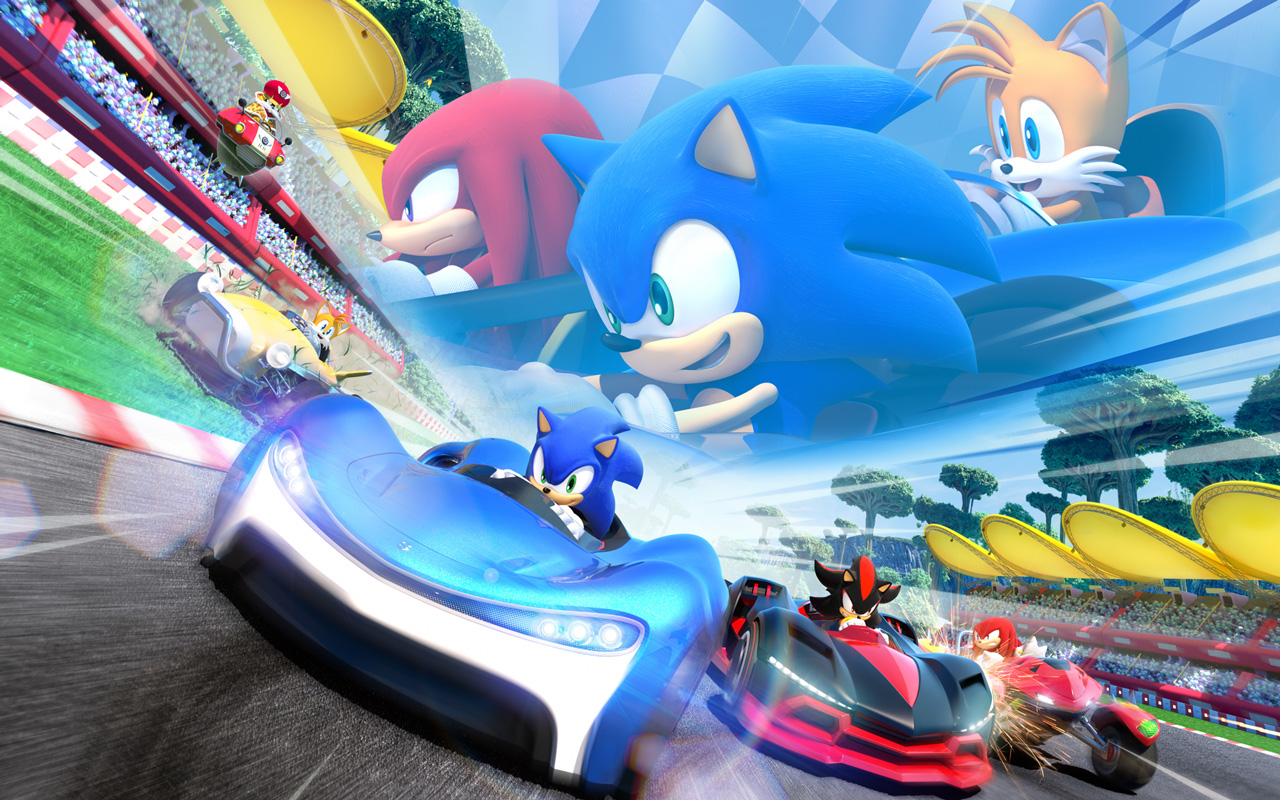 Free Team Sonic Racing Wallpaper in 1280x800