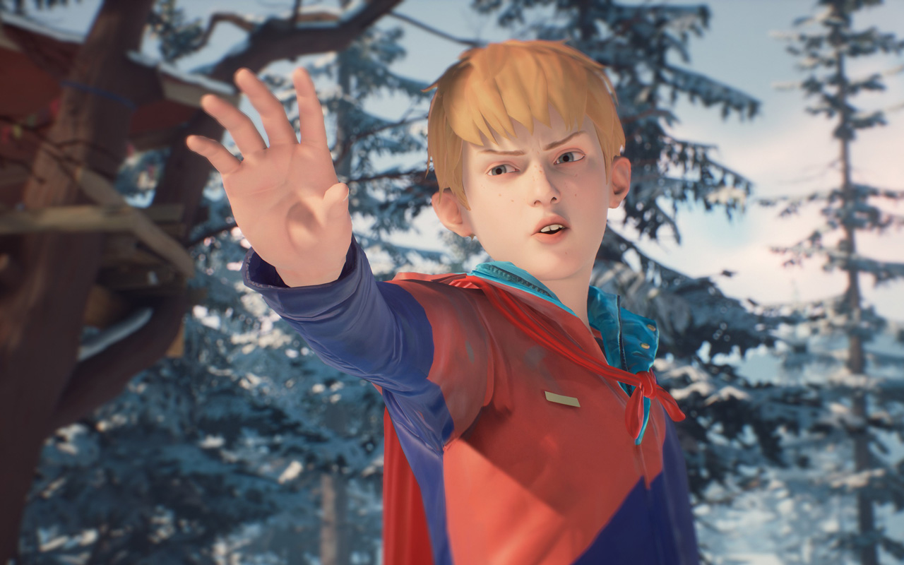 Free The Awesome Adventures of Captain Spirit Wallpaper in 1280x800