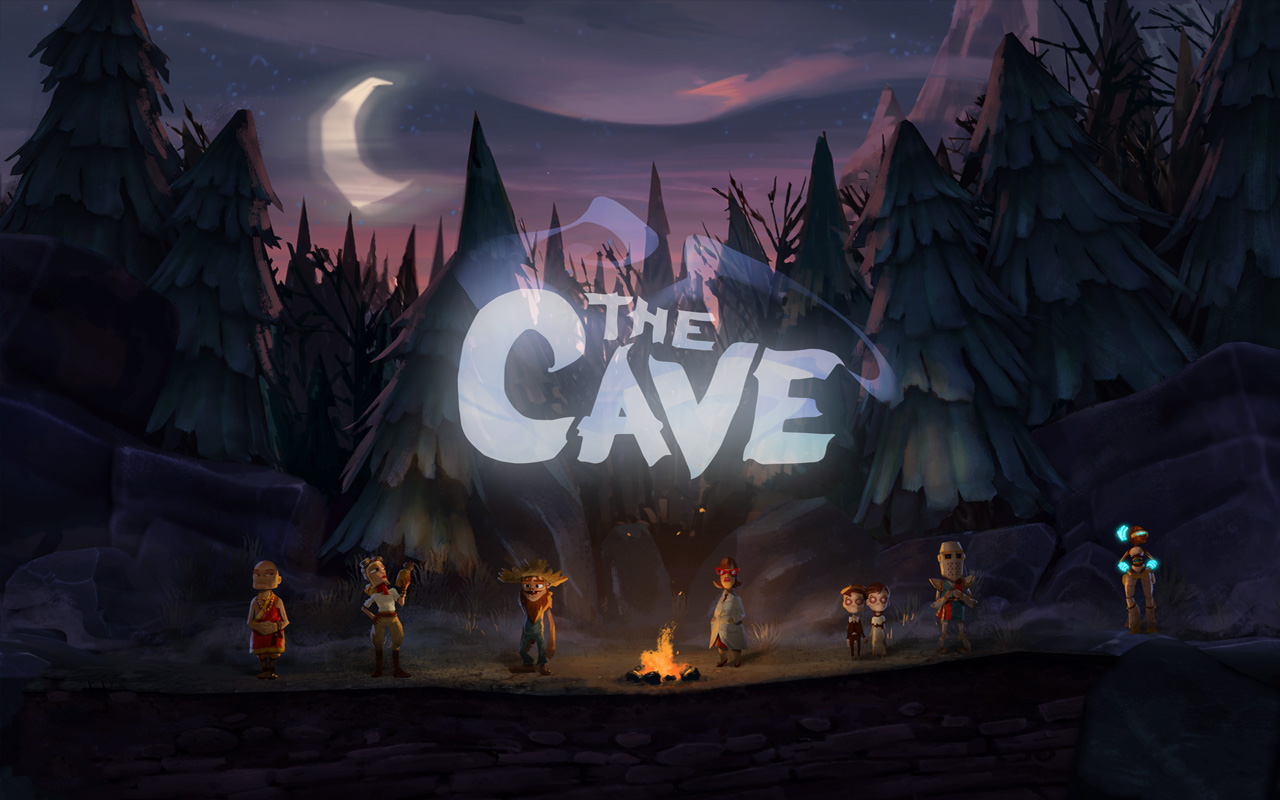 Free The Cave Wallpaper in 1280x800