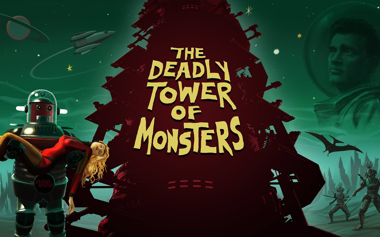 Free The Deadly Tower of Monsters Wallpaper in 1280x800