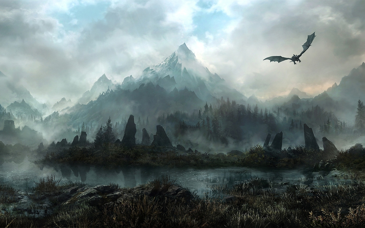 Free The Elder Scrolls V: Skyrim Wallpaper in 1280x800