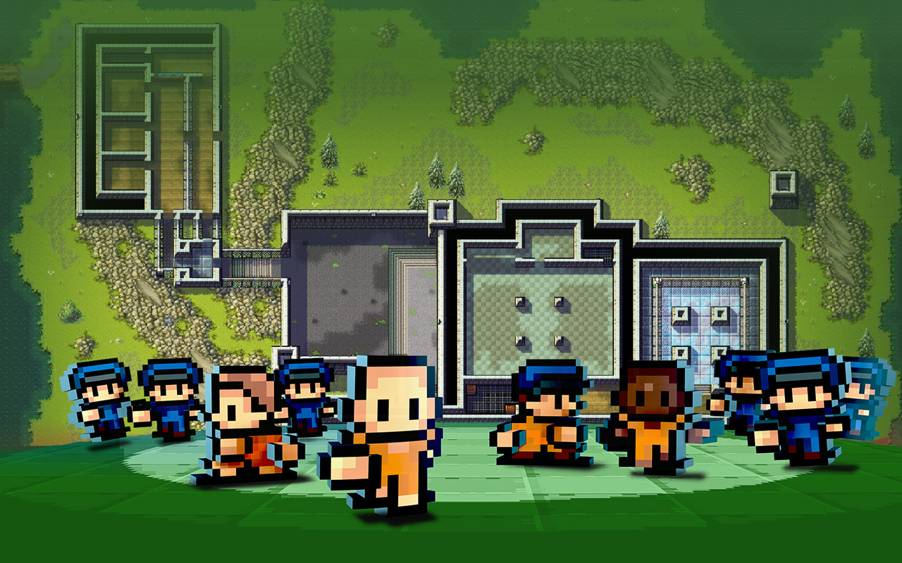Free The Escapists Wallpaper in 1280x800