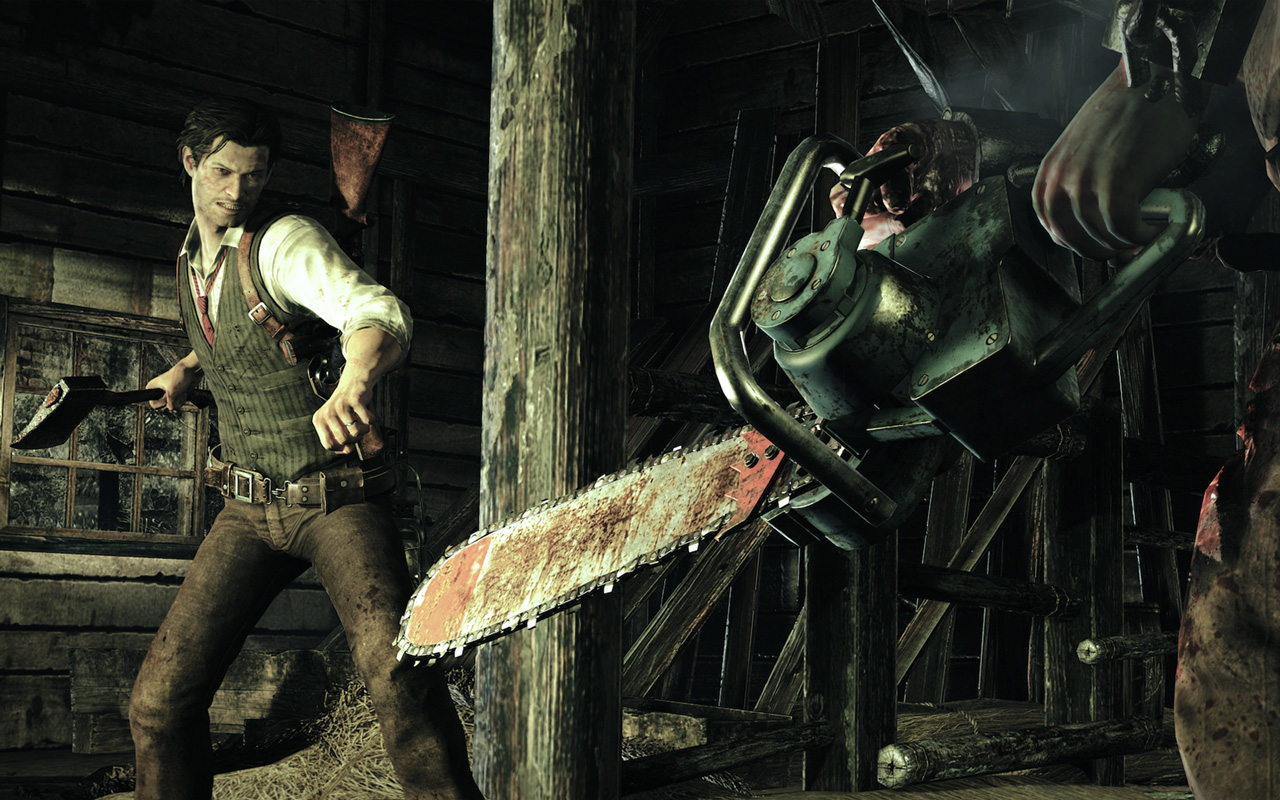 Free The Evil Within Wallpaper in 1280x800