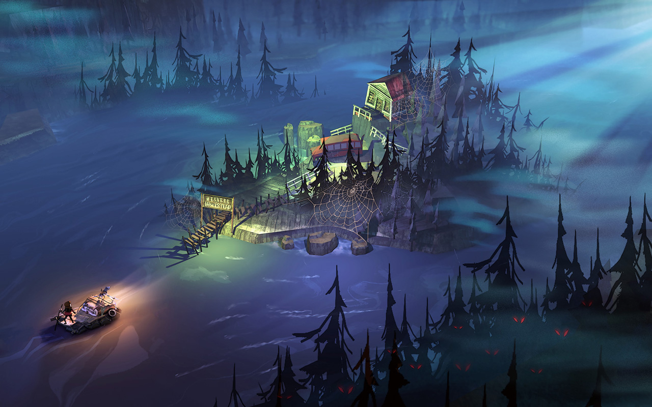 Free The Flame in the Flood Wallpaper in 1280x800