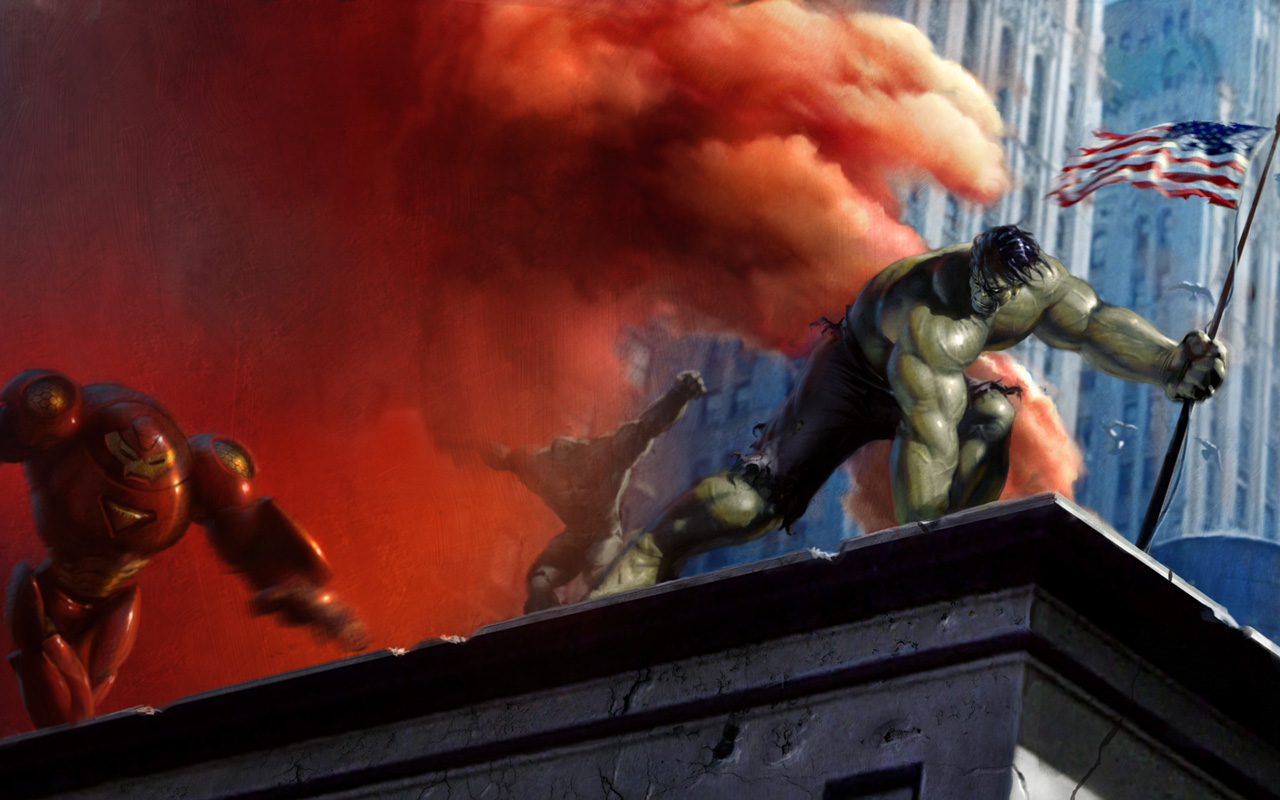 Free The Incredible Hulk Wallpaper in 1280x800