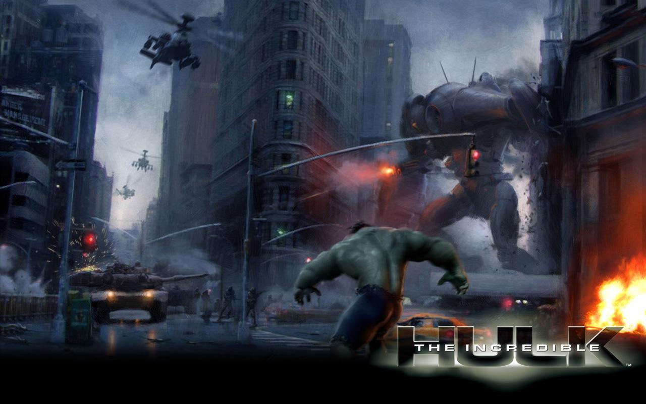 Free The Incredible Hulk Wallpaper in 1280x800