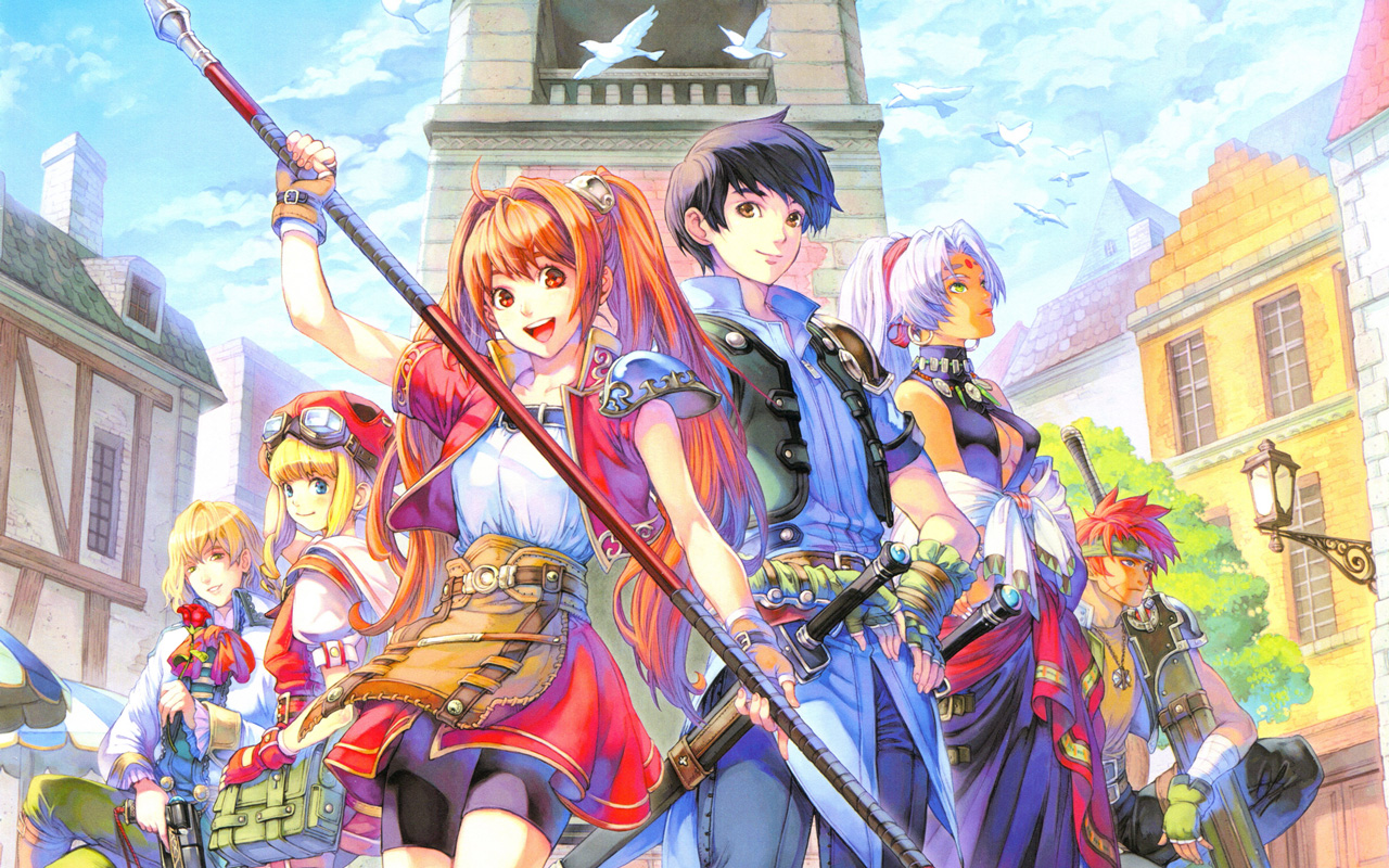 Free The Legend of Heroes: Trails in the Sky Wallpaper in 1280x800