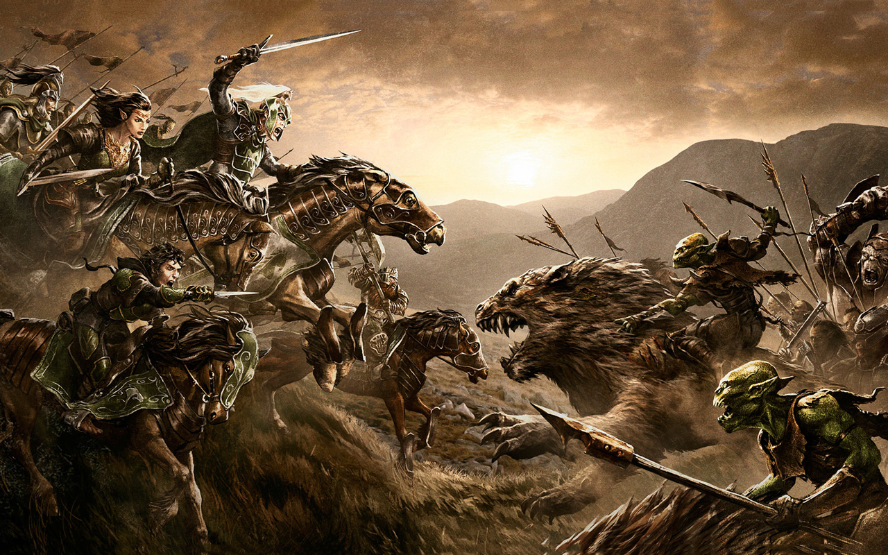 Free The Lord of the Rings Online Wallpaper in 1280x800