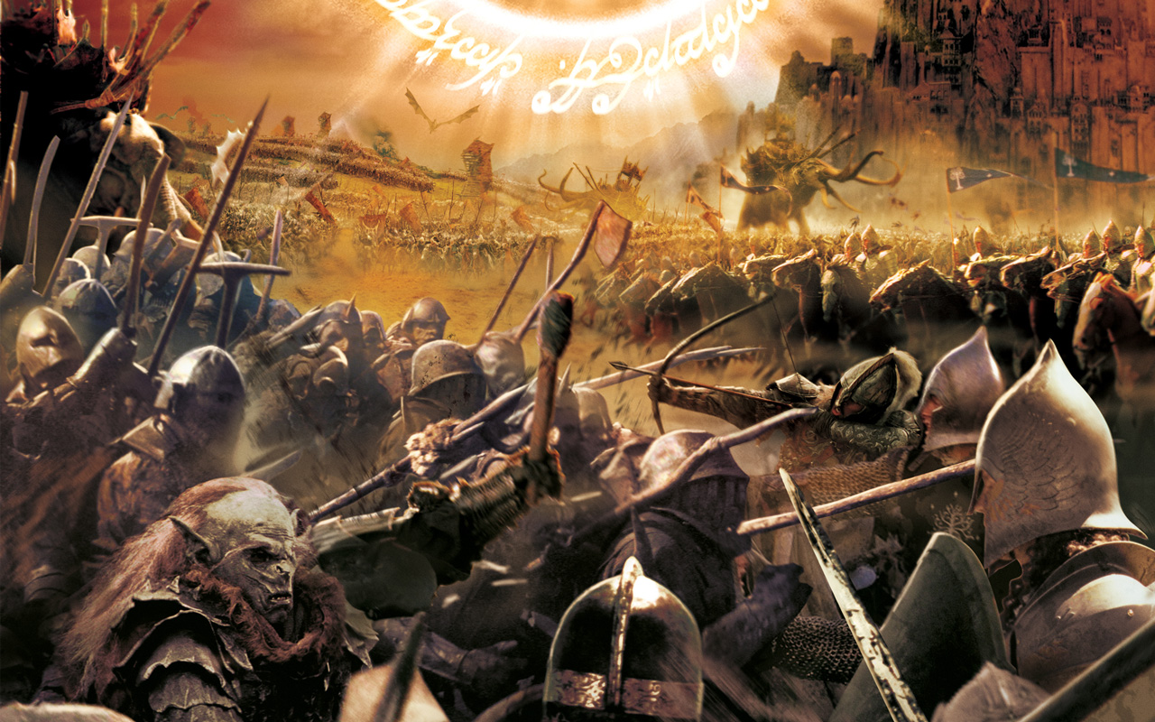 Free The Lord of the Rings: The Battle for Middle-earth Wallpaper in 1280x800