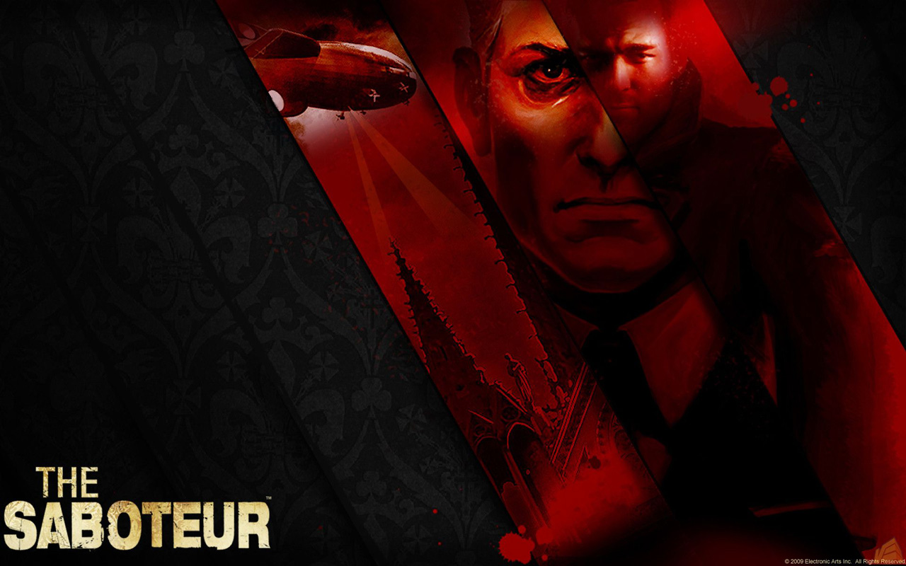 Free The Saboteur Wallpaper in 1280x800