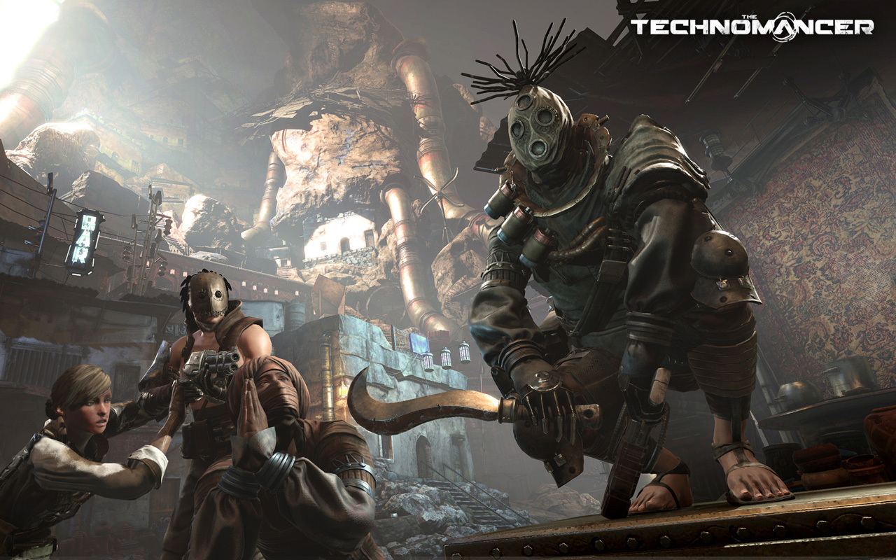 Free The Technomancer Wallpaper in 1280x800