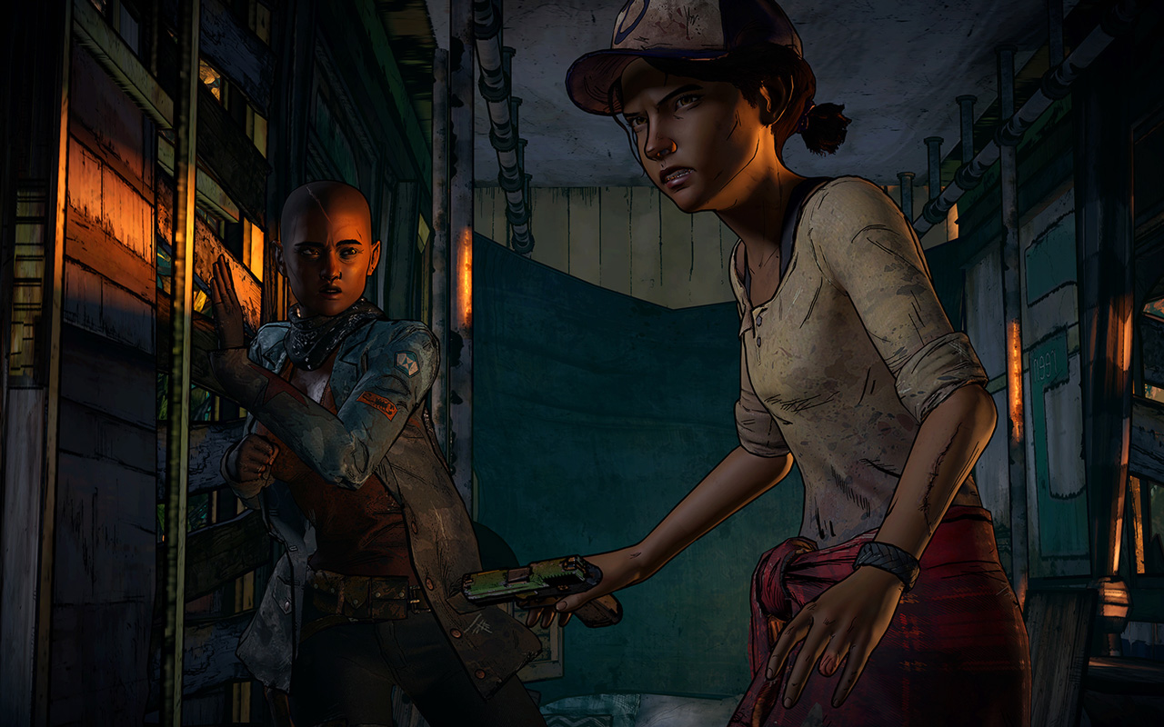 Free The Walking Dead: A New Frontier Wallpaper in 1280x800