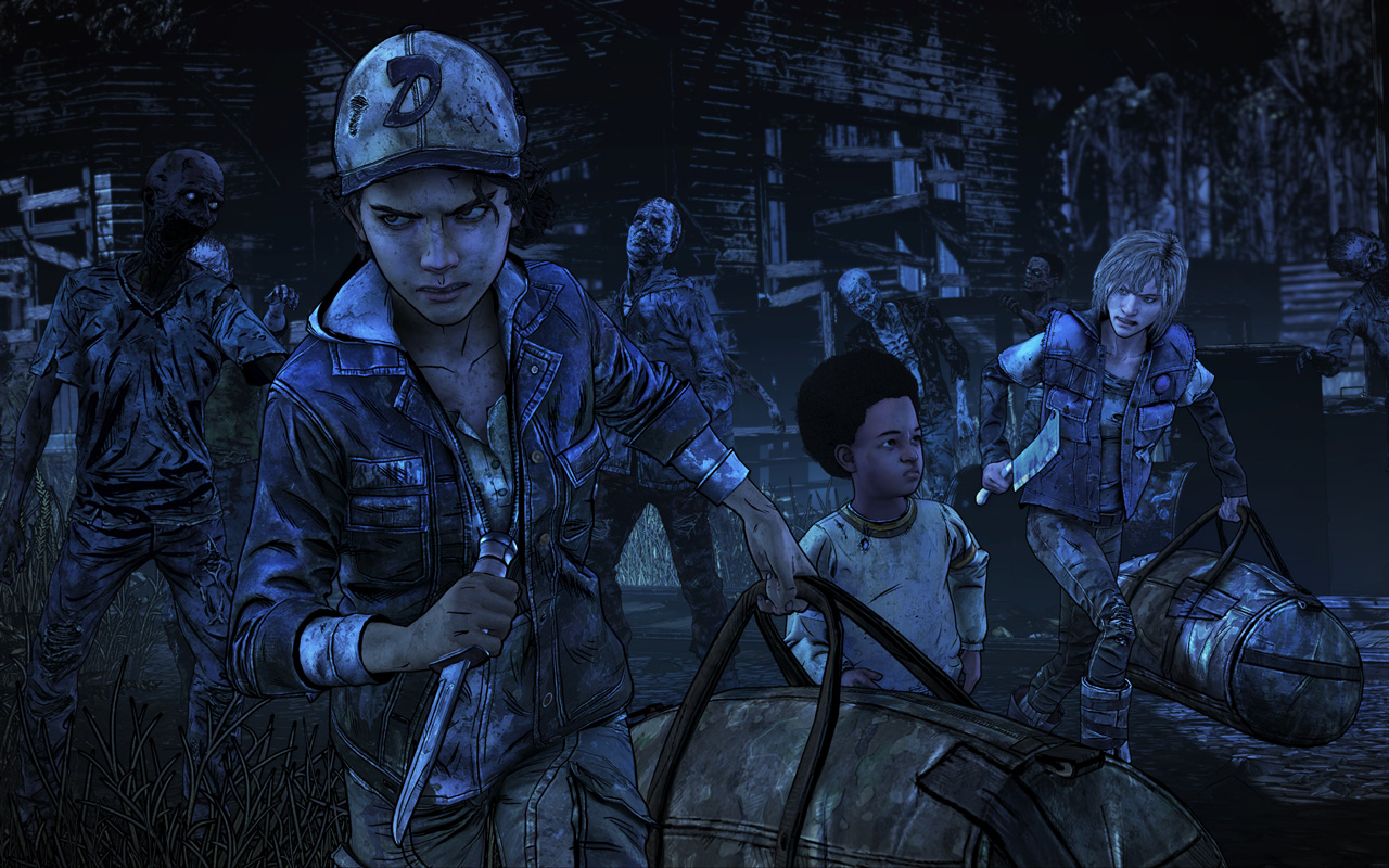 Free The Walking Dead: The Final Season Wallpaper in 1280x800