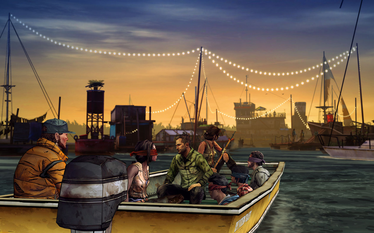 Free The Walking Dead: Michonne Wallpaper in 1280x800