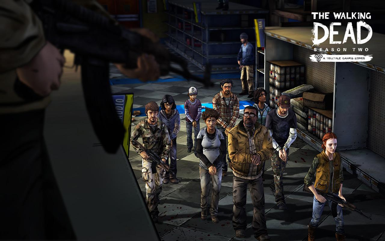 Free The Walking Dead: Season 2 Wallpaper in 1280x800
