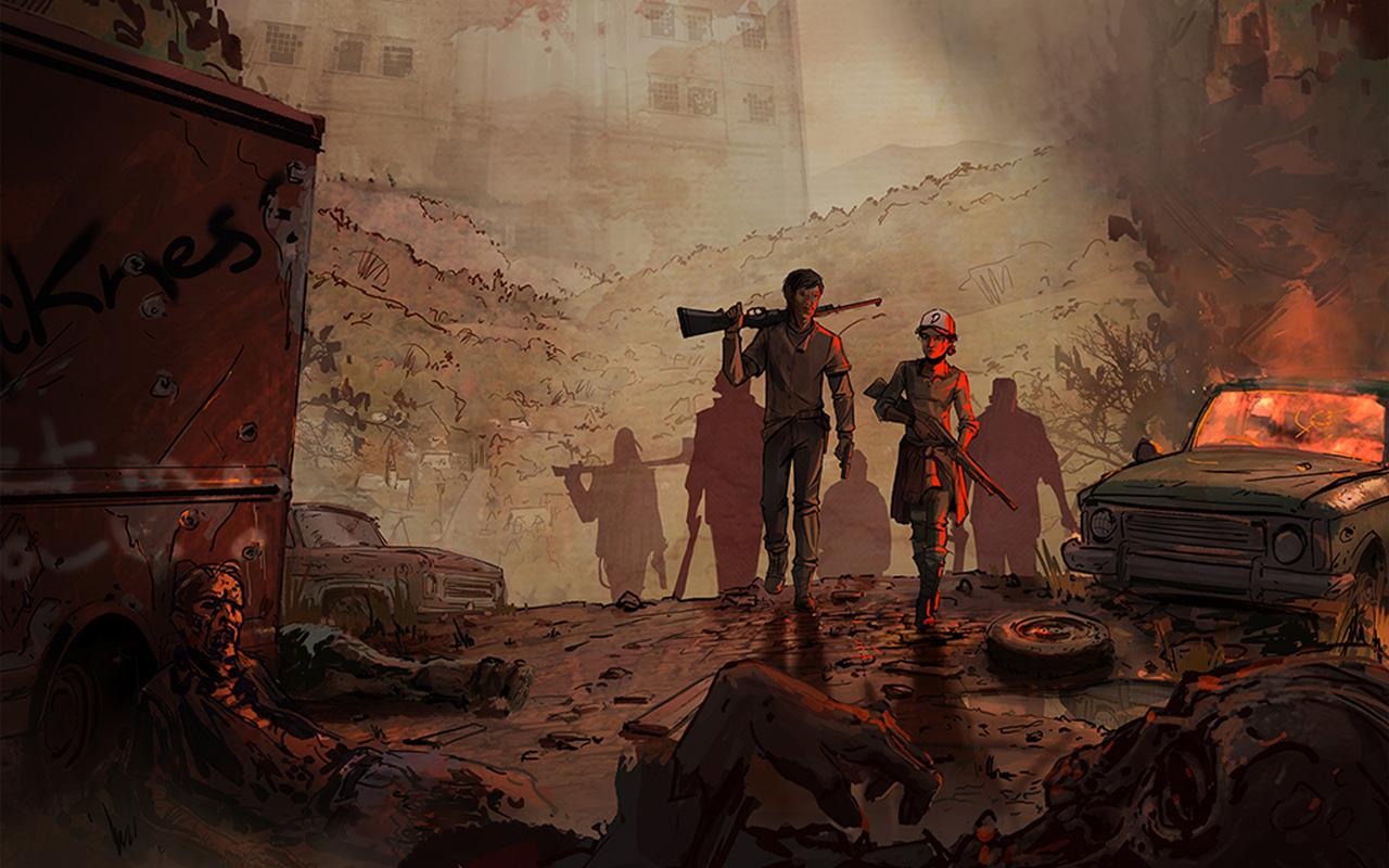 Free The Walking Dead: A New Frontier Wallpaper in 1280x800