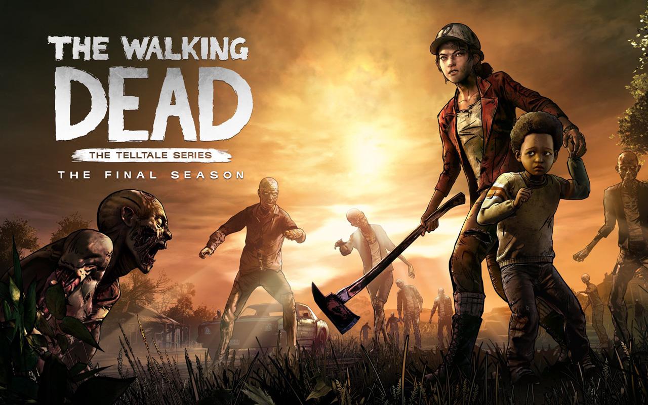 Free The Walking Dead: The Final Season Wallpaper in 1280x800