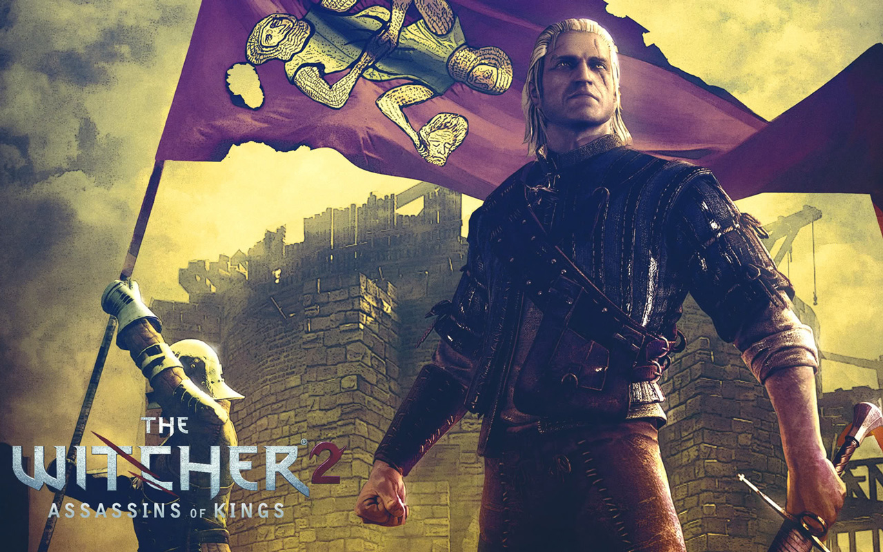 Free The Witcher 2 Wallpaper in 1280x800