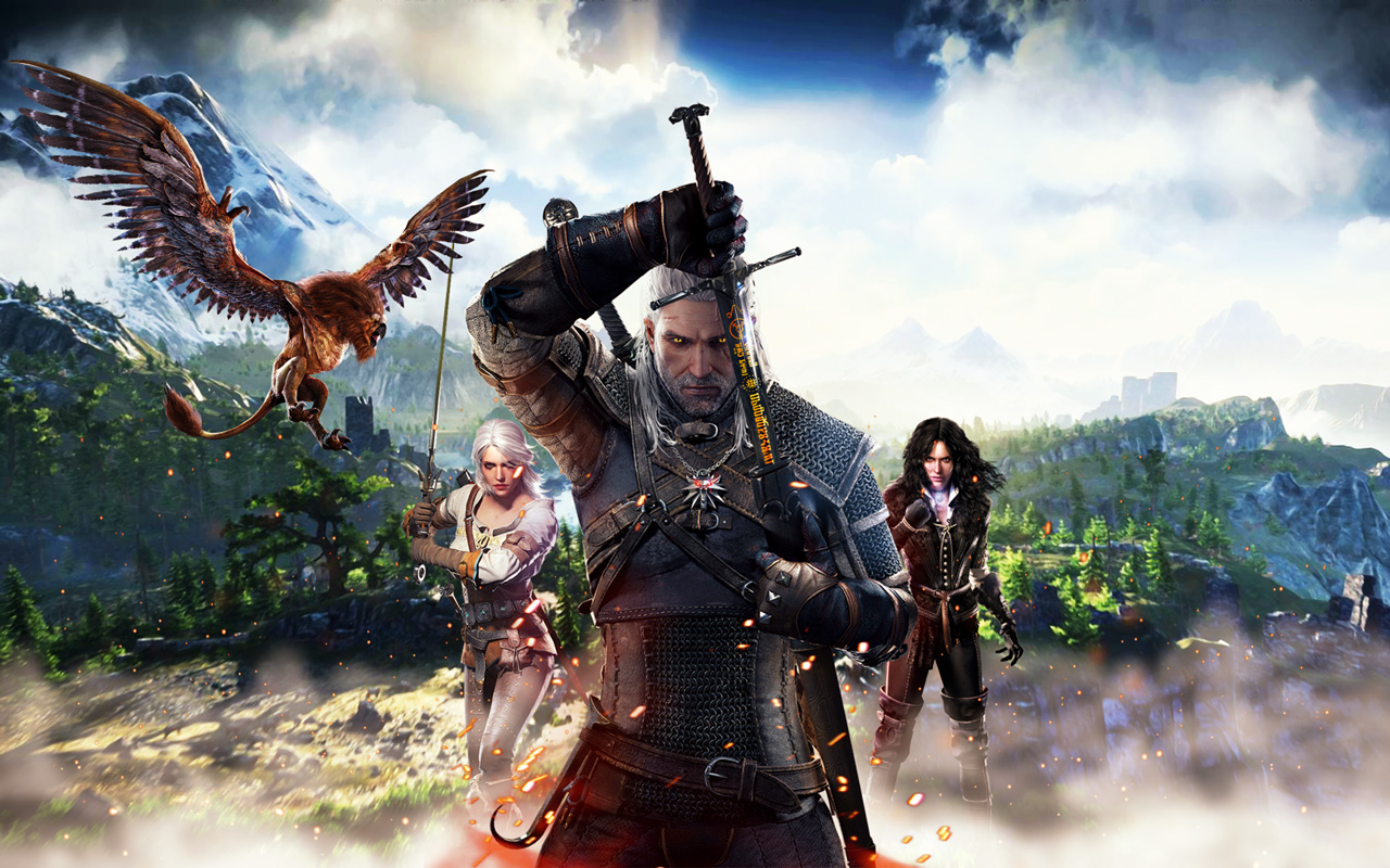 The Witcher 3 Wallpaper in 1280x800