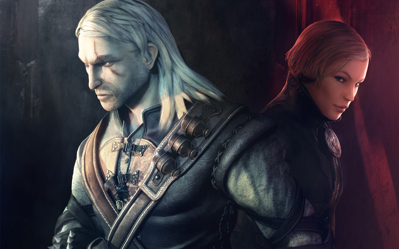 Free The Witcher Wallpaper in 1280x800
