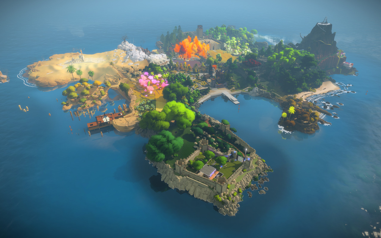 Free The Witness Wallpaper in 1280x800