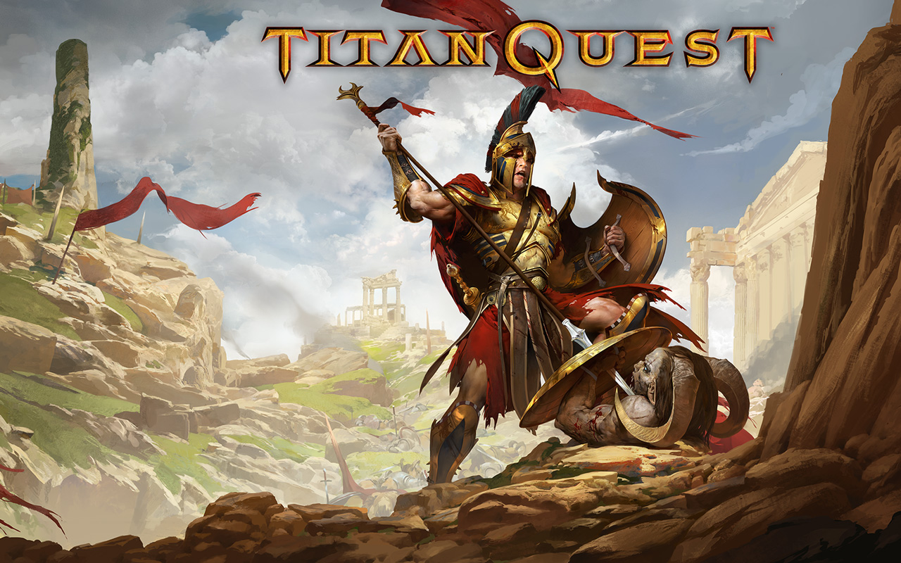 Titan Quest Wallpaper in 1280x800
