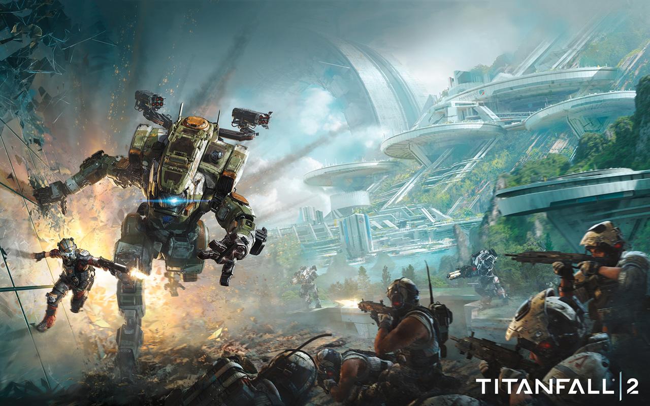 Free Titanfall 2 Wallpaper in 1280x800