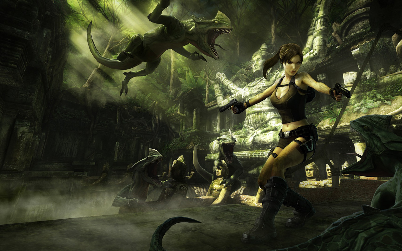 Free Tomb Raider: Anniversary Wallpaper in 1280x800