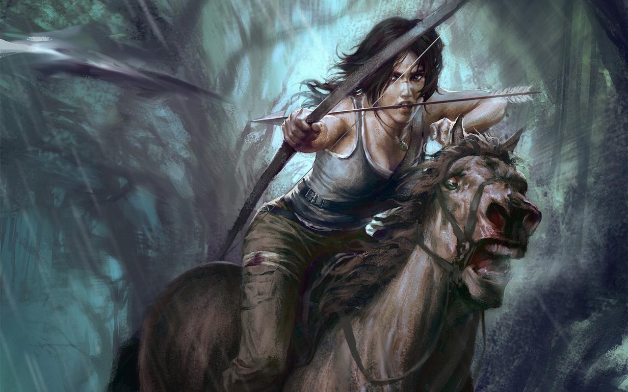 Free Tomb Raider Wallpaper in 1280x800